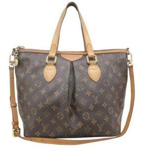 💯 Auth Louis Vuitton Palermo PM Satchel Bag